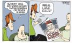 Cartoonist Signe Wilkinson  Signe Wilkinson's Editorial Cartoons 2010-05-10 baseball