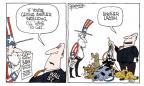 Cartoonist Signe Wilkinson  Signe Wilkinson's Editorial Cartoons 2010-07-13 Federal Reserve Bank