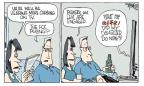 Cartoonist Signe Wilkinson  Signe Wilkinson's Editorial Cartoons 2010-07-16 first