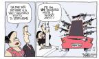 Cartoonist Signe Wilkinson  Signe Wilkinson's Editorial Cartoons 2010-07-21 drug