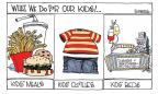 Cartoonist Signe Wilkinson  Signe Wilkinson's Editorial Cartoons 2010-08-04 soda