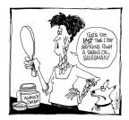 Cartoonist Signe Wilkinson  Signe Wilkinson's Editorial Cartoons 2007-01-01 wonder