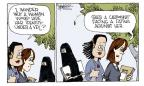 Cartoonist Signe Wilkinson  Signe Wilkinson's Editorial Cartoons 2010-09-20 wonder
