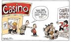 Cartoonist Signe Wilkinson  Signe Wilkinson's Editorial Cartoons 2010-09-28 game