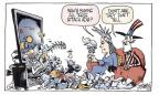 Cartoonist Signe Wilkinson  Signe Wilkinson's Editorial Cartoons 2010-10-18 midterm election