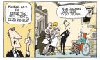 Cartoonist Signe Wilkinson  Signe Wilkinson's Editorial Cartoons 2010-10-20 estate tax
