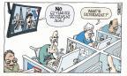 Cartoonist Signe Wilkinson  Signe Wilkinson's Editorial Cartoons 2010-10-27 retirement