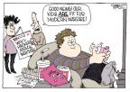Cartoonist Signe Wilkinson  Signe Wilkinson's Editorial Cartoons 2010-12-10 soda