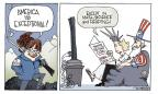 Cartoonist Signe Wilkinson  Signe Wilkinson's Editorial Cartoons 2010-12-14 except