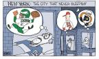 Cartoonist Signe Wilkinson  Signe Wilkinson's Editorial Cartoons 2010-12-20 baseball