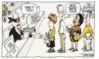 Cartoonist Signe Wilkinson  Signe Wilkinson's Editorial Cartoons 2011-04-13 $10