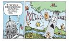 Cartoonist Signe Wilkinson  Signe Wilkinson's Editorial Cartoons 2011-04-26 animal