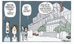 Cartoonist Signe Wilkinson  Signe Wilkinson's Editorial Cartoons 2011-05-26 music education
