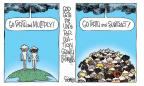 Signe Wilkinson  Signe Wilkinson's Editorial Cartoons 2011-06-14 population growth