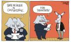 Cartoonist Signe Wilkinson  Signe Wilkinson's Editorial Cartoons 2011-07-22 drug