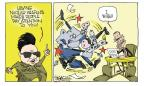 Cartoonist Signe Wilkinson  Signe Wilkinson's Editorial Cartoons 2011-07-29 North Korea