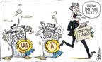 Signe Wilkinson  Signe Wilkinson's Editorial Cartoons 2011-08-10 integrity
