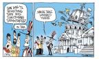 Cartoonist Signe Wilkinson  Signe Wilkinson's Editorial Cartoons 2011-08-24 'til