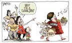 Cartoonist Signe Wilkinson  Signe Wilkinson's Editorial Cartoons 2011-08-23 000