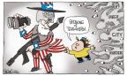 Cartoonist Signe Wilkinson  Signe Wilkinson's Editorial Cartoons 2011-09-13 Philadelphia