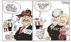 Cartoonist Signe Wilkinson  Signe Wilkinson's Editorial Cartoons 2011-12-02 allegation