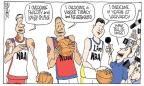 Cartoonist Signe Wilkinson  Signe Wilkinson's Editorial Cartoons 2012-02-23 league