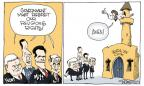 Cartoonist Signe Wilkinson  Signe Wilkinson's Editorial Cartoons 2012-02-27 Speaker of the House