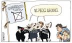 Cartoonist Signe Wilkinson  Signe Wilkinson's Editorial Cartoons 2012-03-14 pledge of allegiance