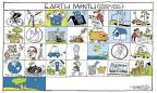 Cartoonist Signe Wilkinson  Signe Wilkinson's Editorial Cartoons 2012-04-23 wildlife