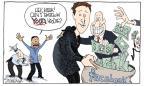 Cartoonist Signe Wilkinson  Signe Wilkinson's Editorial Cartoons 2012-05-21 Facebook