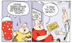 Cartoonist Signe Wilkinson  Signe Wilkinson's Editorial Cartoons 2012-06-03 soda