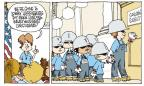 Cartoonist Signe Wilkinson  Signe Wilkinson's Editorial Cartoons 2012-06-07 uniform