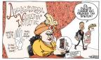 Cartoonist Signe Wilkinson  Signe Wilkinson's Editorial Cartoons 2012-06-05 ball