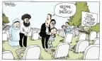 Cartoonist Signe Wilkinson  Signe Wilkinson's Editorial Cartoons 2012-08-07 violent