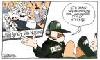 Cartoonist Signe Wilkinson  Signe Wilkinson's Editorial Cartoons 2012-10-09 football coach