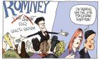 Cartoonist Signe Wilkinson  Signe Wilkinson's Editorial Cartoons 2012-10-15 2012 election