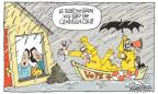 Cartoonist Signe Wilkinson  Signe Wilkinson's Editorial Cartoons 2012-10-30 2012 election