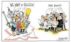Cartoonist Signe Wilkinson  Signe Wilkinson's Editorial Cartoons 2012-11-15 2012 election