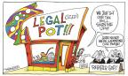 Cartoonist Signe Wilkinson  Signe Wilkinson's Editorial Cartoons 2012-12-11 $$$