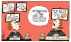 Cartoonist Signe Wilkinson  Signe Wilkinson's Editorial Cartoons 2013-04-06 top