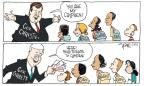 Cartoonist Signe Wilkinson  Signe Wilkinson's Editorial Cartoons 2013-04-14 Camden