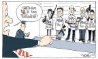 Cartoonist Signe Wilkinson  Signe Wilkinson's Editorial Cartoons 2013-04-24 killer