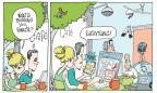 Cartoonist Signe Wilkinson  Signe Wilkinson's Editorial Cartoons 2013-06-23 record