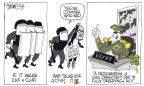 Cartoonist Signe Wilkinson  Signe Wilkinson's Editorial Cartoons 2013-07-12 president