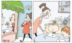 Cartoonist Signe Wilkinson  Signe Wilkinson's Editorial Cartoons 2013-11-04 feed