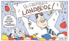 Cartoonist Signe Wilkinson  Signe Wilkinson's Editorial Cartoons 2013-11-07 victory