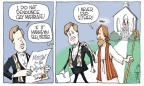 Cartoonist Signe Wilkinson  Signe Wilkinson's Editorial Cartoons 2013-11-21 church
