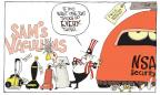 Cartoonist Signe Wilkinson  Signe Wilkinson's Editorial Cartoons 2014-01-05 record