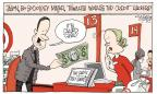 Cartoonist Signe Wilkinson  Signe Wilkinson's Editorial Cartoons 2014-01-16 top