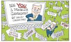 Cartoonist Signe Wilkinson  Signe Wilkinson's Editorial Cartoons 2014-02-02 ball